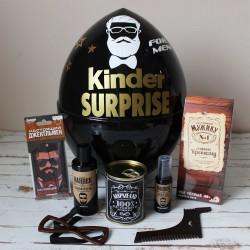 Черный киндер сюрприз для бородача