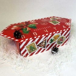 Сладкий новогодний набор в конфете