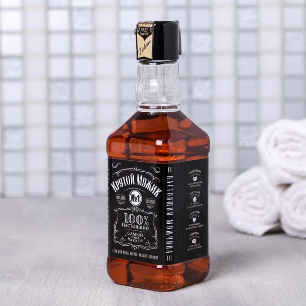 Гель для душа в бутылке «Крутой мужик» 250 мл