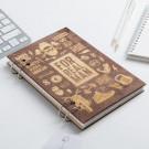 """Ежедневник в деревянной обложке """"For real man"""""""