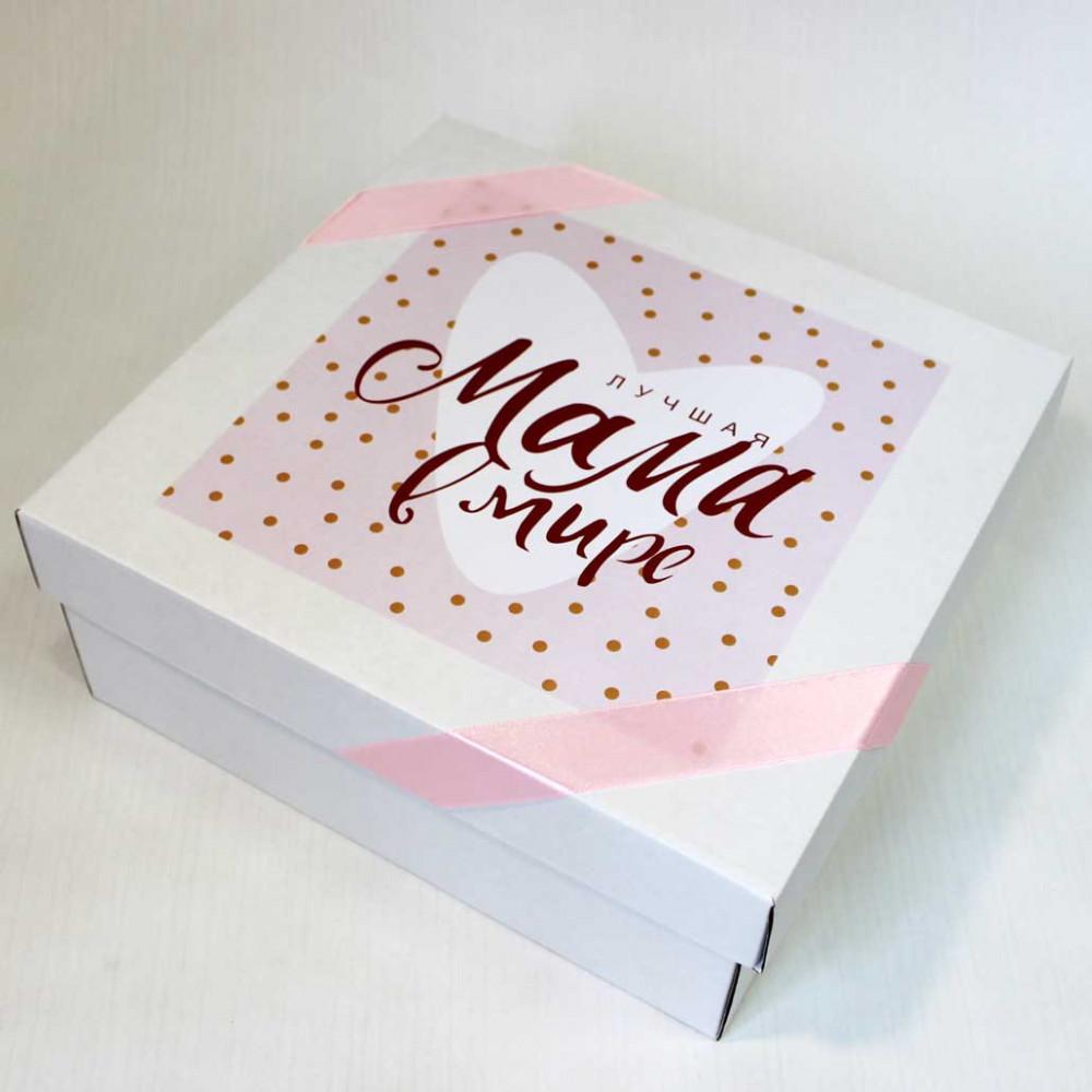 """Подарочная коробка """"Лучшая мама в мире"""""""