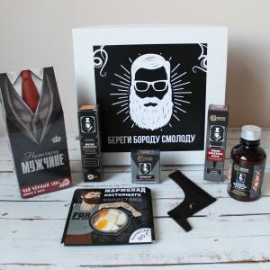 """Подарочный набор для мужчины """"Береги бороду смолоду"""" №2"""