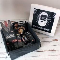 Подарочный набор для мужчины «Береги бороду смолоду» №2