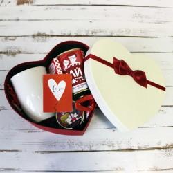 Подарочный набор для девушки в сердце XL