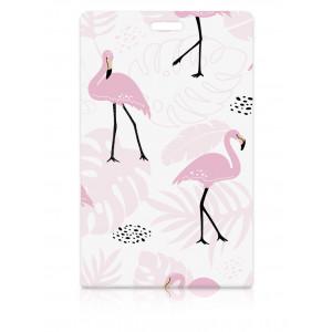 """Держатель для карт """"Sweet Flamingo"""" (6,5 х 10,4 см)"""
