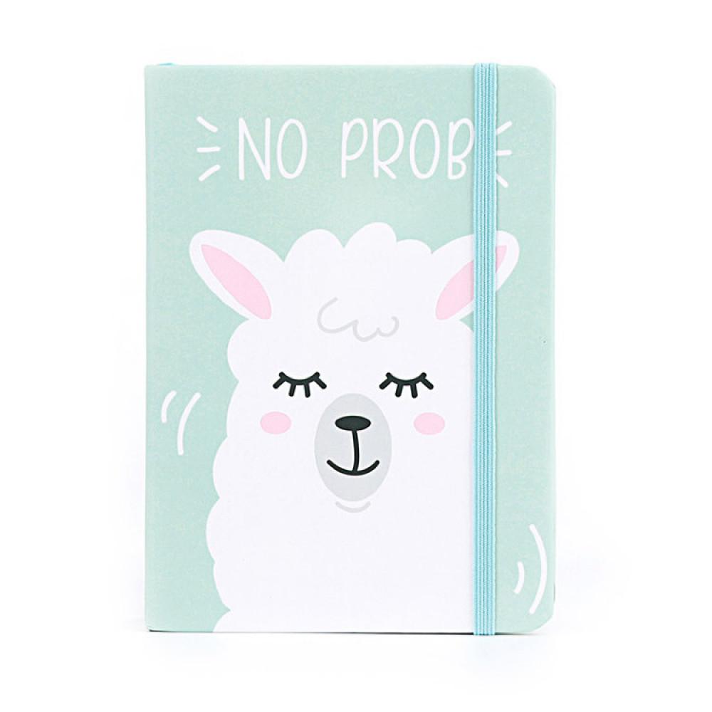 Блокнот с ламой «Lama no prob» A6