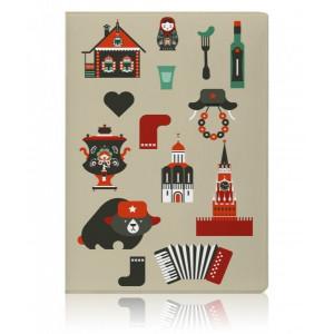 Обложка для паспорта Miusli Russia
