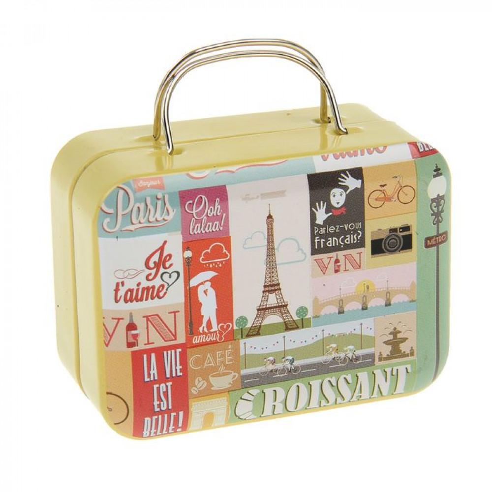 Шкатулка-чемодан «Путешествие в Париж»