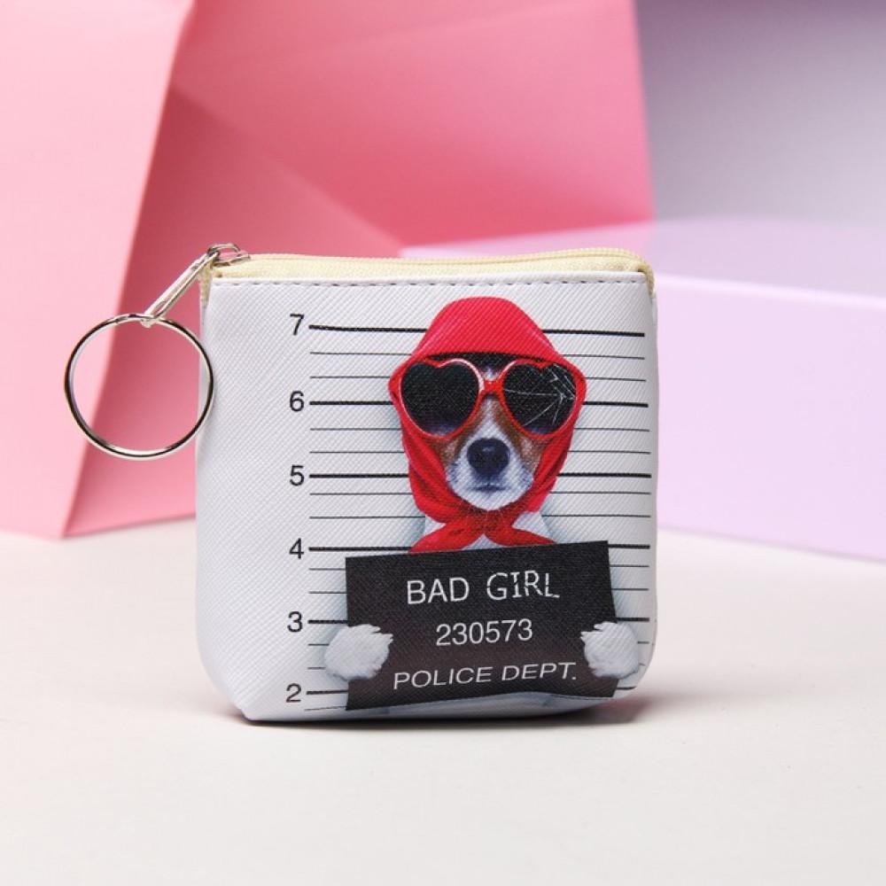 Женский кошелек с собачкой Bad Girl