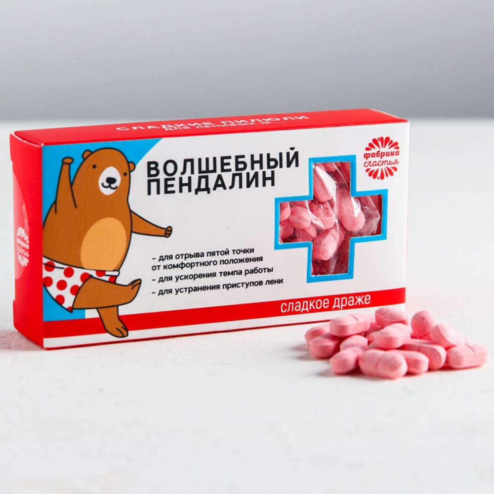 Конфеты-таблетки «Волшебный пендалин» 100 г