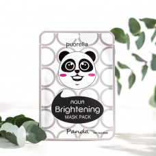 Маска для лица PUORELLA омолаживающая «Панда»