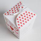 Бонбоньерка With love 7.5 × 8 × 7.5 см