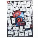 """Плакат со скретч-слоем """"50 оттенков секса"""", 35х25 см"""