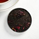 Чай чёрный с каркаде «Чай в постель» в консервной банке 60 г