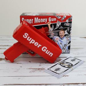 Деньгомет «Super Gun» Пистолет для денег