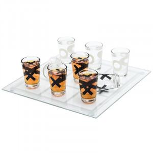 Алкогольная игра «Пьяные крестики нолики»