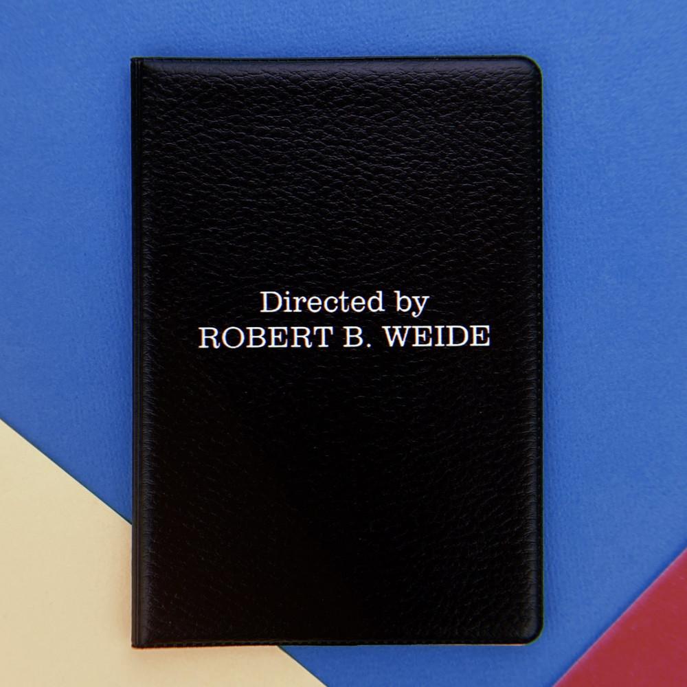 Обложка для паспорта Directed by ROBERT B. WEIDE