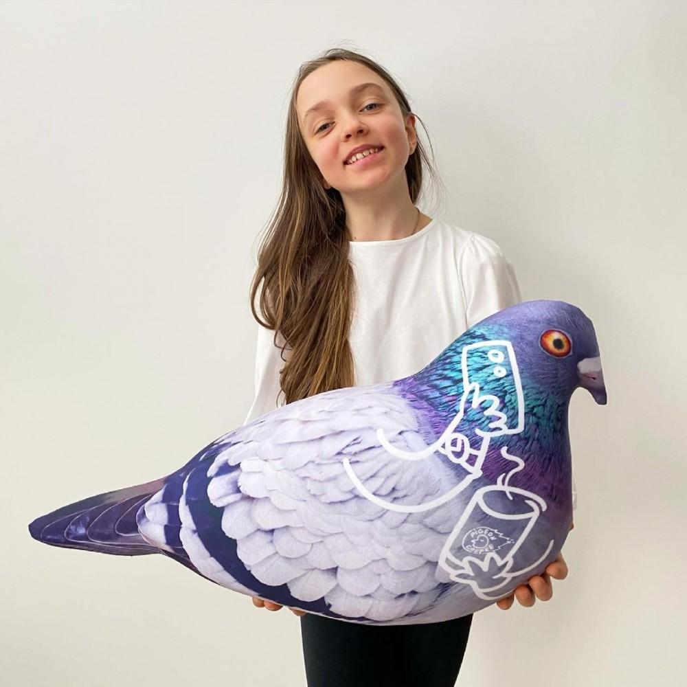 Подушка-игрушка Голубь Валера