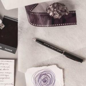 Шариковая ручка «Запятые придумал дьявол»