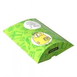 Подарочная коробка «Книга – лучший подарок, но она не влезла»