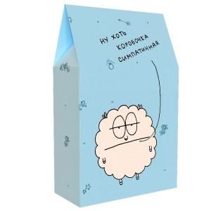 Подарочная коробка «Ну хоть коробочка симпатичная»