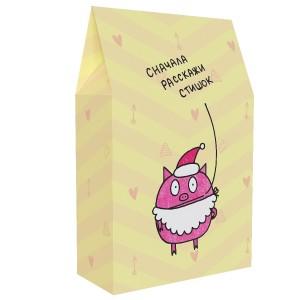 Подарочная коробка «Сначала расскажи стишок»