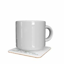 Подставка для чашки «Фея трудоголизма смотрит на тебя с укором»