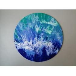 Набор для создания абстрактных картин №2 «Океан»