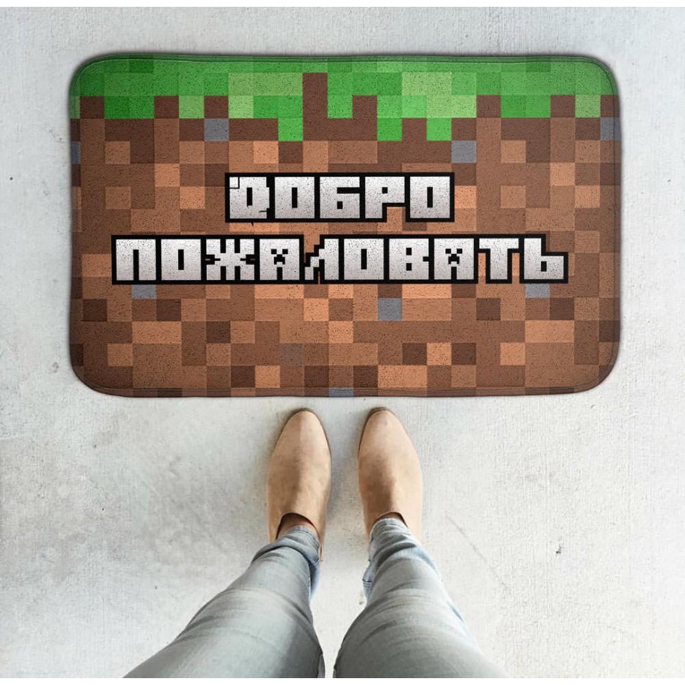 Придверный коврик Пиксели