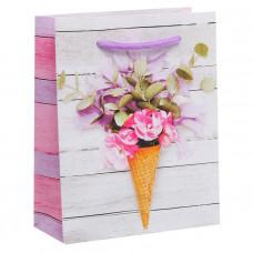 Пакет ламинированный вертикальный «Радостного настроения» ML 23 × 27 × 8 см