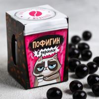 Кофейные зёрна в шоколаде «Пофигин» 30 г