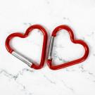 Карабин-сердце с корги «Ты меня зацепила»