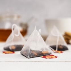Чай чёрный в пирамидках «Счастливый чай»