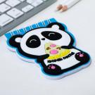 Блокнот с резиновым доп.элементом «Панда», 40 листов