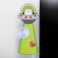 Панель на монитор для стикеров «Теперь ты знаешь, кто ворует твои ручки»