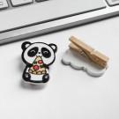 Набор «Панда»: доска для записей мелки дизайнерские прищепки
