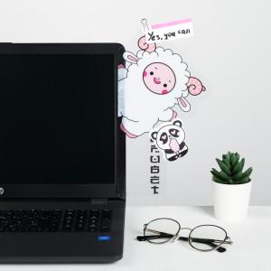 Панель для стикеров на компьютер «Привет»