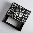 Коробка складная Gift for real man, 25 × 18 × 10 см
