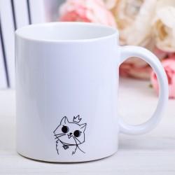 Кружка «Я работаю, чтобы у моих котиков была лучшая жизнь»