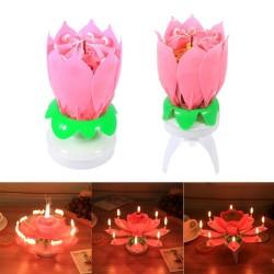 Свеча для торта музыкальная цветок «Тюльпан»