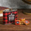Подарочный набор «Лучший папа»: фляжка и чай