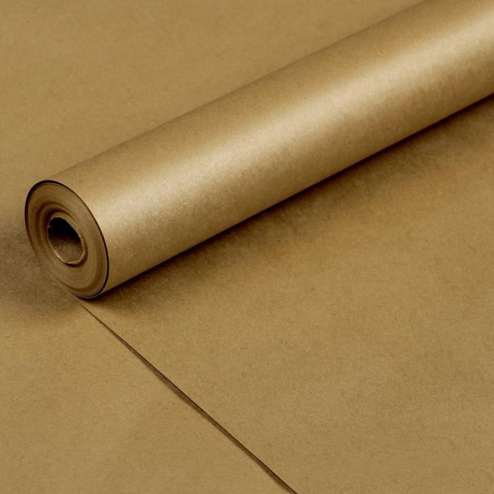 Упаковочная бумага крафт золотая