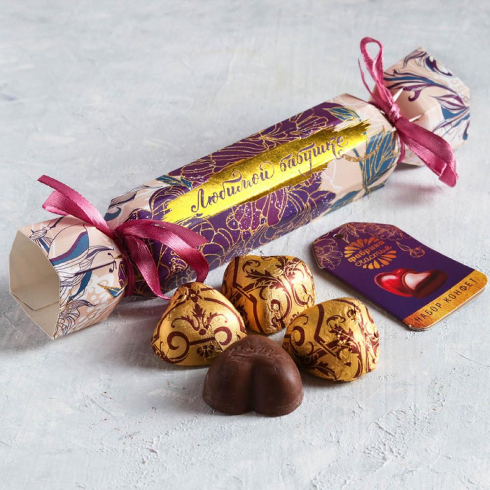 Конфеты шоколадные «Любимой бабушке», 57 г
