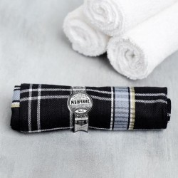 Мужской подарочный набор «Новый год» гель для душа, платок-сигара