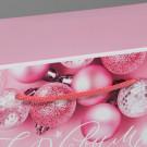 Пакет-коробка «Розовые шары» 23 × 18 × 11 см