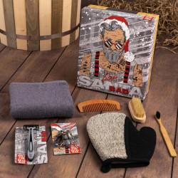Новогодний мужской подарочный набор «Bad Santa»