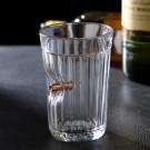 Граненый стакан с пулей