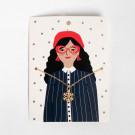 Новогодний набор для девушки с варежками «Warm Wishes»