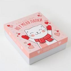 Новогодний набор для девушки «Котик с лапками»