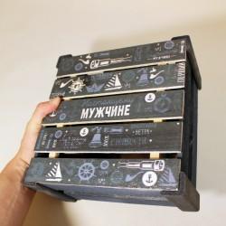 Подарочный набор в деревянном ящике Wood Box for Man